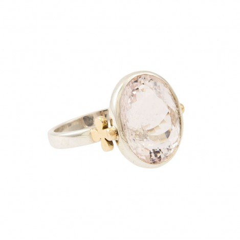 Coco Ring Oval Morganite