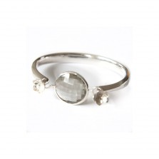 Coco Bangle Green Amethyst