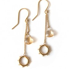Athena dangle earrings – Gild