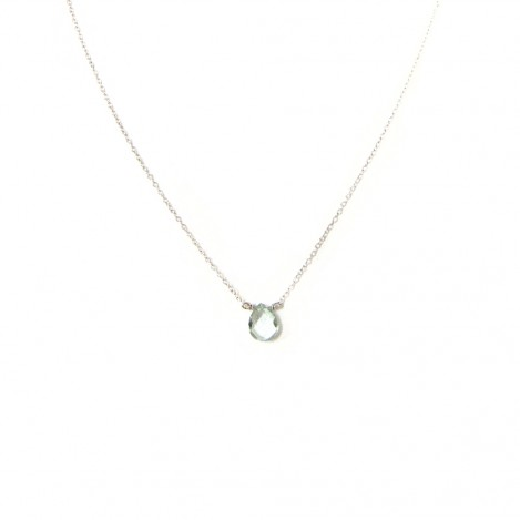 Luna Green Amethyst necklace