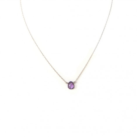 Luna Amethyst necklace