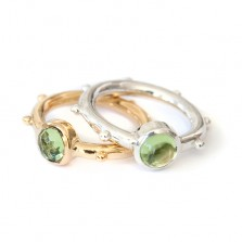 Athena ring with Peridot