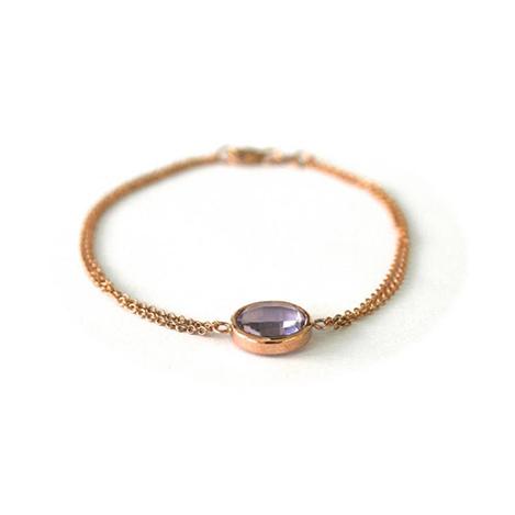 Amethyst-Bracelet-Rose-Gold