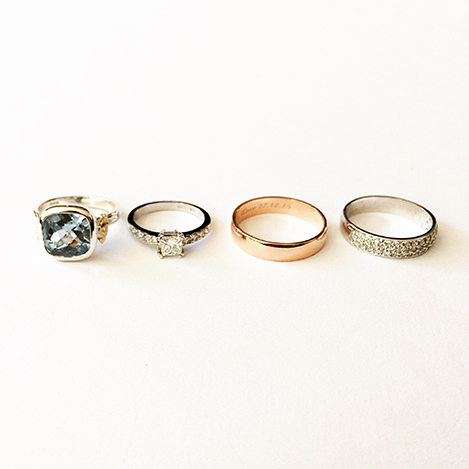 Assorted-Gemstone-and-Diamond-Rings