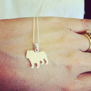 Bulldog-silhouette-necklace