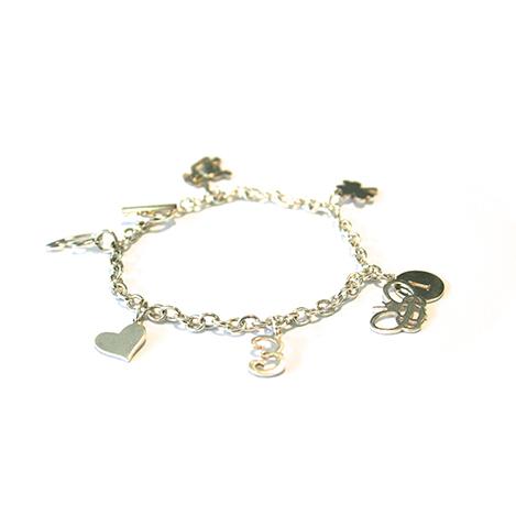 Charm-Bracelet-Silver