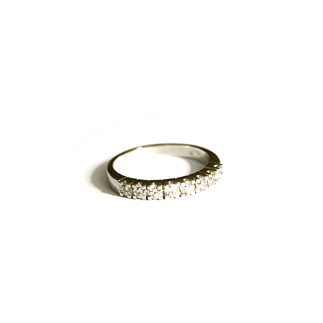 Diamond-Half-Eternity-Ring