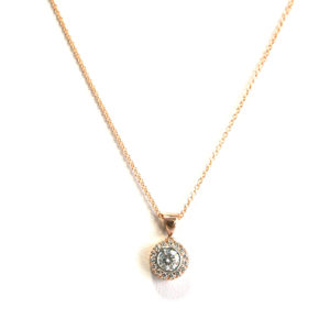 Diamond-halo-necklace-rose-gold