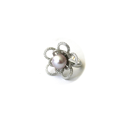 Pearl-and-diamond-ring