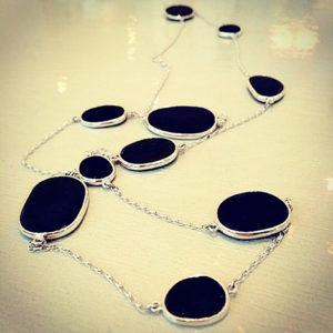 Pebble-Necklace-Silver