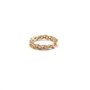 Rose-Gold-Plaited-Band