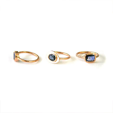 Sapphire-Bespoke-Stacking-Rings-Rose-Gold