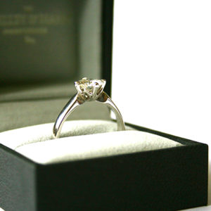 Solitaire-Diamond-Engagement-Ring-with-Protea-Detail