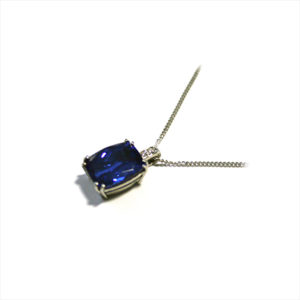 Tanzanite-diamond-necklace