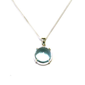 Topaz-cabachon-necklace-silver