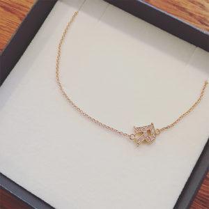 Asymmetrical-Alphabet-Necklace-Rose-Gold