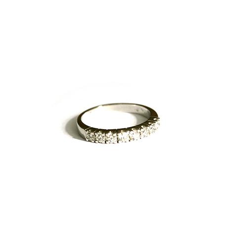 Diamond-Half-Eternity-Ring
