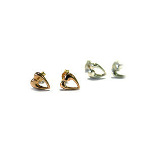 Heart-Shaped-Studs-Rose-or-White-Gold