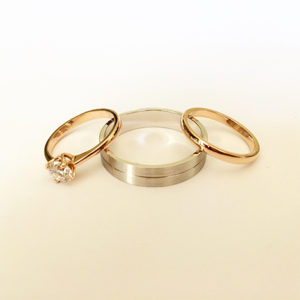 His-and-Hers-Wedding-Set-Rose-and-White-Gold