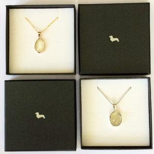 Moonstone-oval-tear-pendants