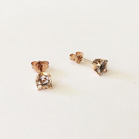 Morganite-Studs-Rose-Gold