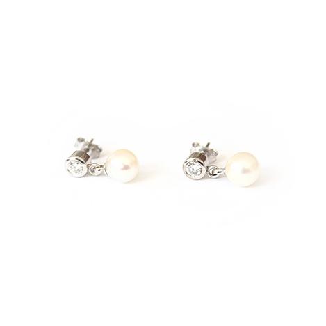 Pearl-and-Diamond-Studs