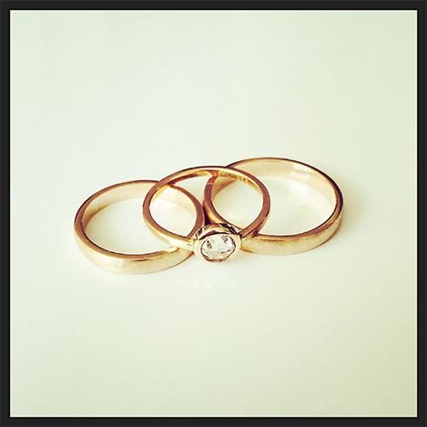 Rose-gold-rings