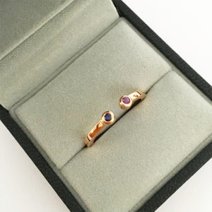 Sapphire-and-Amethyst-Ring-Rose-Gold