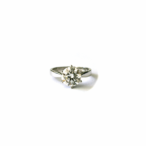 Solitaire-Diamond-Engagement-Ring-Platinum