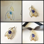 Tanzanite-Diamond-Leaf-Pendant-Gold-03