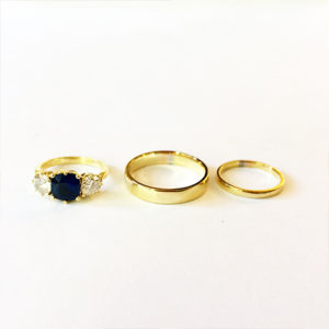 Yellow-Gold-Rings-Wedding-set