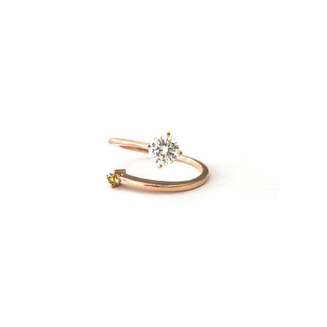 diamond-open-ring